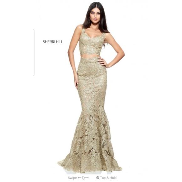 Sherri Hill Dresses & Skirts - Sherri hill two pice gown 51192